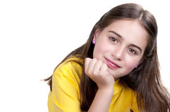 Image of a beautiful little girl Stock Photo