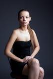 Image of beautiful young woman looking at camera Royalty Free Stock Photography