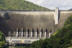Image of bhumibol dam in province tak. Royalty Free Stock Image