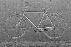 Image of bicycle abstract background Stock Photos