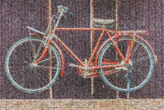 Image of bicycle abstract background Royalty Free Stock Photography