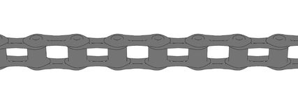 Image of bike chain Stock Images