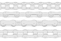 Image of bike chains Stock Photos