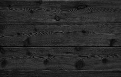 Image of black bumpy wooden table top background Royalty Free Stock Images