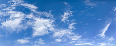 Image of blue sky and clouds Stock Image