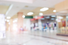 Image blur background, luxury shopping mall department store Royalty Free Stock Photos