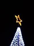 Image blur bokeh defocused lights decoration Royalty Free Stock Photography