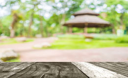 image of blur hut in the forest for resting and relaxing in stock photography
