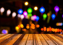 Image of  blurred bokeh background with colorful lights (blurred Royalty Free Stock Photography