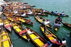 Boat club, Nainital. This is an image of Boat Club at Nainital, India. A popular tourist destination of North India Stock Photo