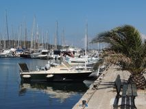 Image of boats in the port, Port Grimaud
