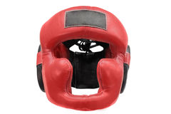Boxing helmet Stock Images