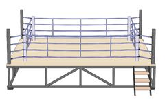 Image of boxing ring Royalty Free Stock Photos