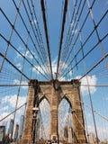 Brooklyn bridge, New York City, USA. The image of Brooklyn bridge in New York City Stock Photos