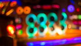 Image brouillée des lumières de fête colorées qui peuvent être employées comme CCB Photos libres de droits