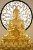 Image of buddha. Gold statue image of buddha Stock Image