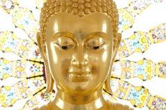 Image of buddha. Gold statue image of buddha Stock Photos