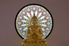 Image of buddha. Buddha statue in Buddhist church, Thailand Royalty Free Stock Image