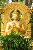 Image of buddha. Gold statue image of buddha in Thailand Royalty Free Stock Images