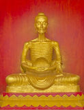 Image of Buddha. Statue of starving symbol at Nakhon Si Thammarat, Thailand Royalty Free Stock Photography