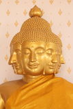 Image of buddha. This in statue in thai temple Royalty Free Stock Photo