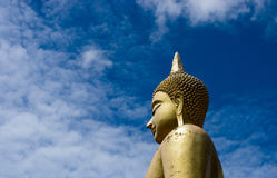 Image of Buddha ,. Be mind restraint , of people who respect the Buddhism Stock Photo