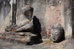 Image of buddha. Be ruined Stock Image