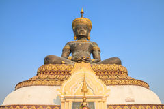 Image of buddha. And believability in thailand Royalty Free Stock Photos