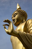 Image of buddha. With blue sky royalty free stock photos