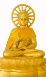 Image of buddha with gear wheel Royalty Free Stock Photo