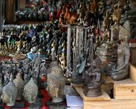 The image of Buddha models ,souvenir Royalty Free Stock Photography