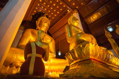 Image of buddha at Nan province, Thailand Stock Photos