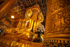 Image of buddha at Nan province, Thailand Stock Image
