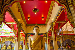 The image of Buddha in the pavilion , Stock Photos