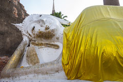 Image of Buddha. This photo are Image of Buddha taken at Thai temple in Ayutthaya Thailand Royalty Free Stock Photos