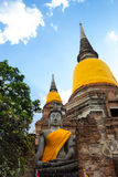 Image of Buddha. This photo are Image of Buddha taken at Thai temple in Ayutthaya Thailand Stock Image