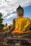 Image of Buddha. This photo are Image of Buddha taken at Thai temple in Ayutthaya Thailand Stock Images