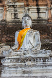 Image of Buddha. This photo are Image of Buddha taken at Thai temple in Ayutthaya Thailand Royalty Free Stock Photography