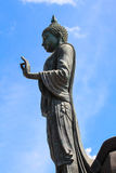 Image of Buddha in Phuttamonthon. And  blue sky Royalty Free Stock Photography