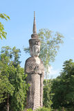 Image of buddha standing Stock Images