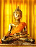 Image of Buddha in a temple of Thailand Royalty Free Stock Photos
