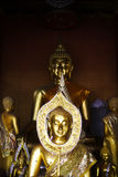 Image of  Buddha in a temple. Image of  Buddha in temple Thailand Stock Image