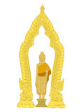 Image of Buddha Thai Art Royalty Free Stock Photography