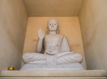 Image of Buddha. The image of Buddha in Thai temple Chiang Mai Thailand Royalty Free Stock Photo