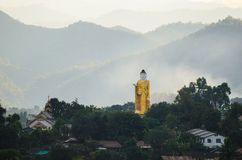 Image of Buddha, Wag. Image of Buddha in wag action at Keng Tung, Myanmar Stock Images