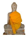 Image of Buddha. On white background Stock Photo