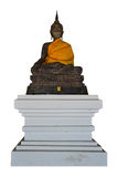 Image of Buddha. On white background Stock Photography