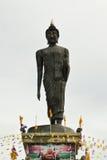 IMAGE OF BUDDHA ON WHITE BACKGROUND Royalty Free Stock Photography