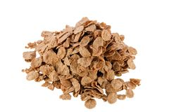 Image bulk heap of delicious flakes Royalty Free Stock Photography