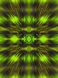 GREEN AND EARTHY BROWN FLASH IMAGE. Image of burst effect with green and earthy dark brown colours and detail in the centre stock photos